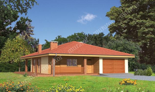 Projekt domu:  Murator C114   – Znany