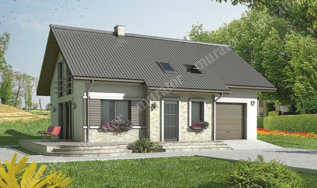 Projekt domu:  Murator C280   – Wykwintny