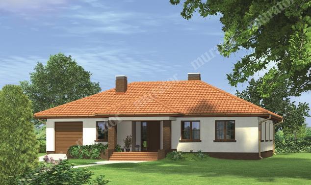 Projekt domu:  Murator M96   – Kraina marzeń